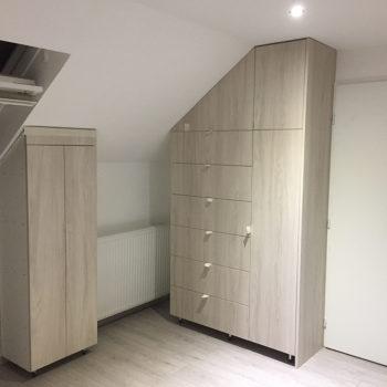 mobilier rangement bois