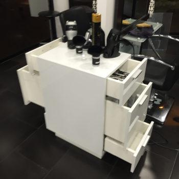 mobilier salon de coiffure
