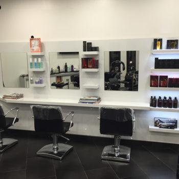 Amemangement mobilier salon de coiffure