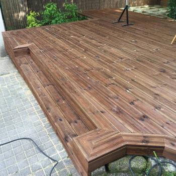 contruction terrasse exterieur bois